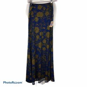 NWT LuLaRoe Floral Maxi Skirt